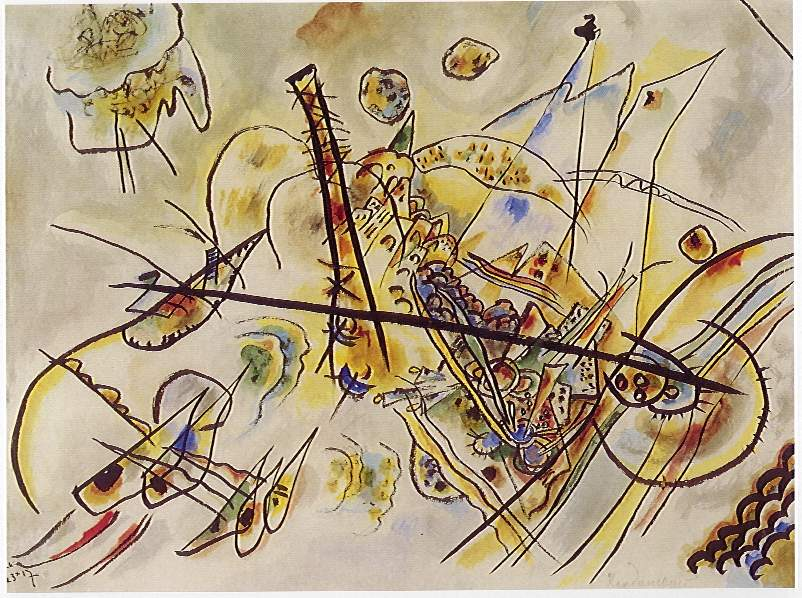 Wassily Kandinsky Composition X